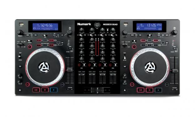 Mixdeck quad 4 channel universal dj system numark for 1234 get on the dance floor dj mix