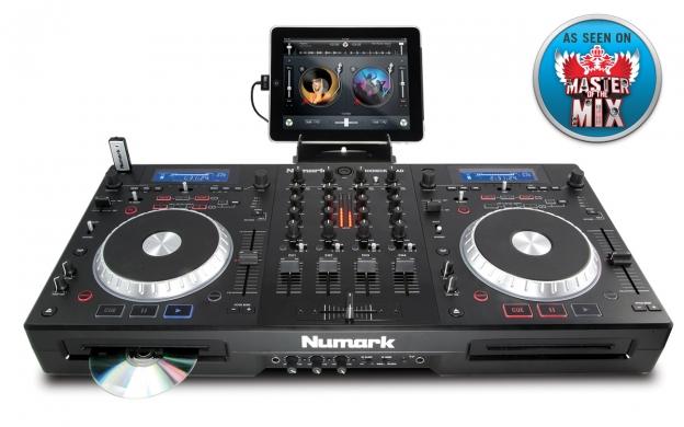 Mixdeck Quad 4 Channel Universal Dj System Numark