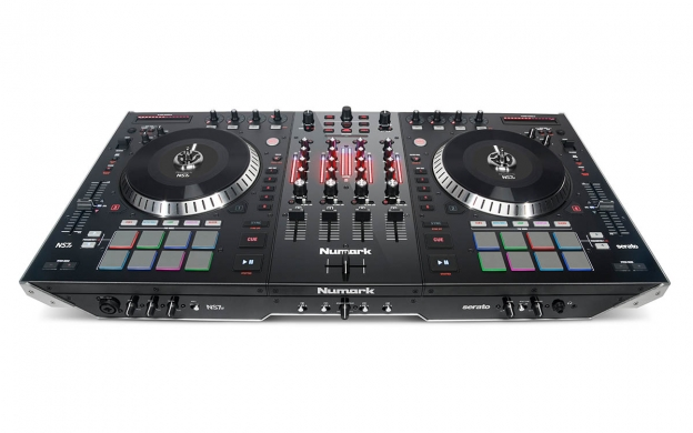Ns7ii 4 Channel Motorized Dj Controller And Mixer Numark