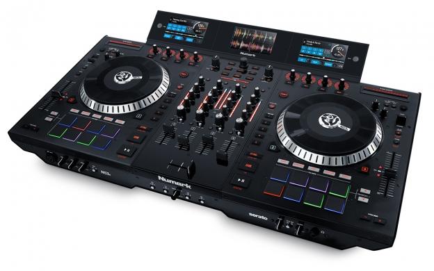 NUMARK NS7II - 4 CHANNEL DJ PERFORMANCE CONTROLLER