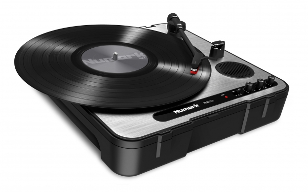Pt01 Usb Portable Vinyl Archiving Turntable Numark