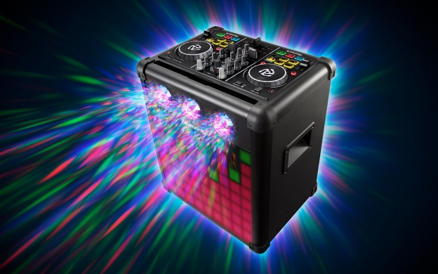 Party Mix Pro Dj Controller With Built In Light Show