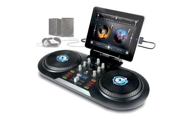 Numark iDJ Live DJ software controller for iPad, iPhone or iPod.