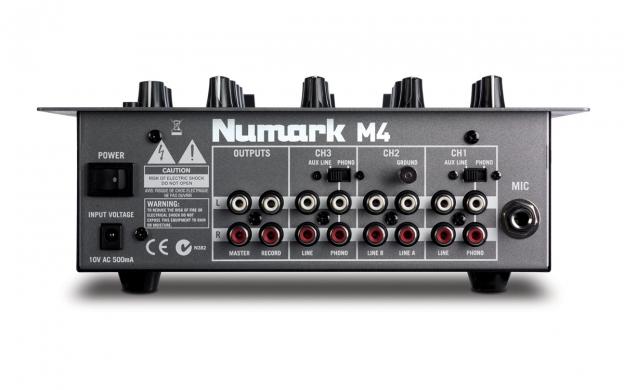 Bộ DJ Numark NDX400 + Mixer Numark M4