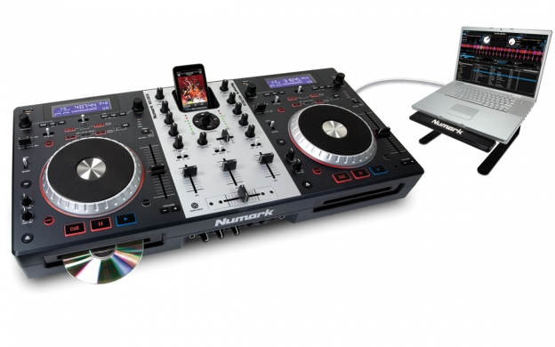 mixdeck 2 channel universal dj system numark. Black Bedroom Furniture Sets. Home Design Ideas