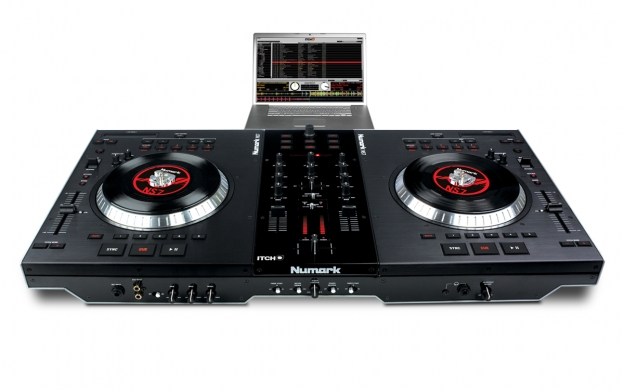 Ns7 Numark Performance Controller With Serato Itch Numark