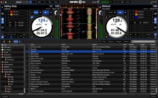 serato dj 2 decks download mp3