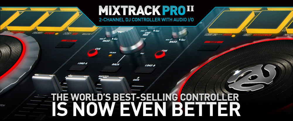 Mixtrack Pro II