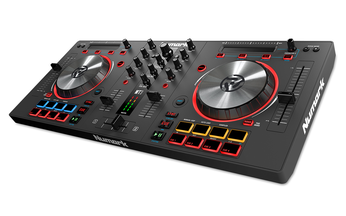 Mixtrack 3 All In One Controller Solution For Virtual Dj Numark