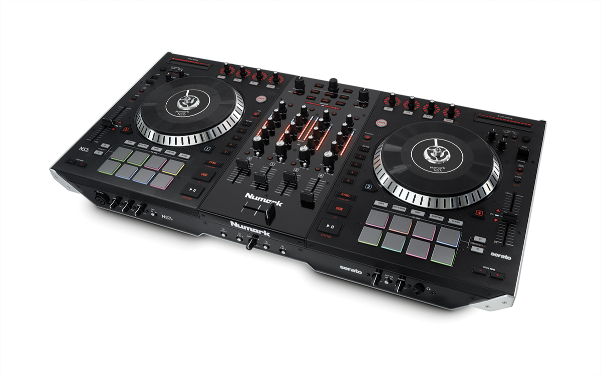 Numark NS7 III DJ Controller Audio Drivers for Windows 7