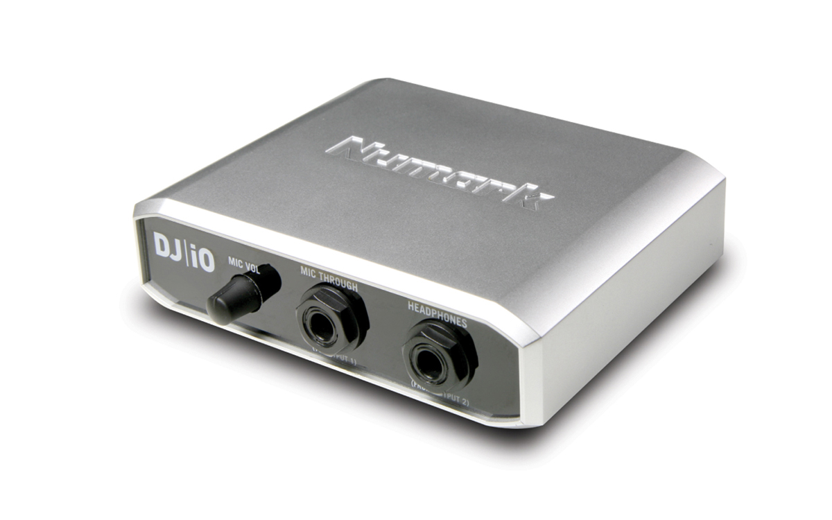 DJ|iO USB DJ Audio Interface | Numark