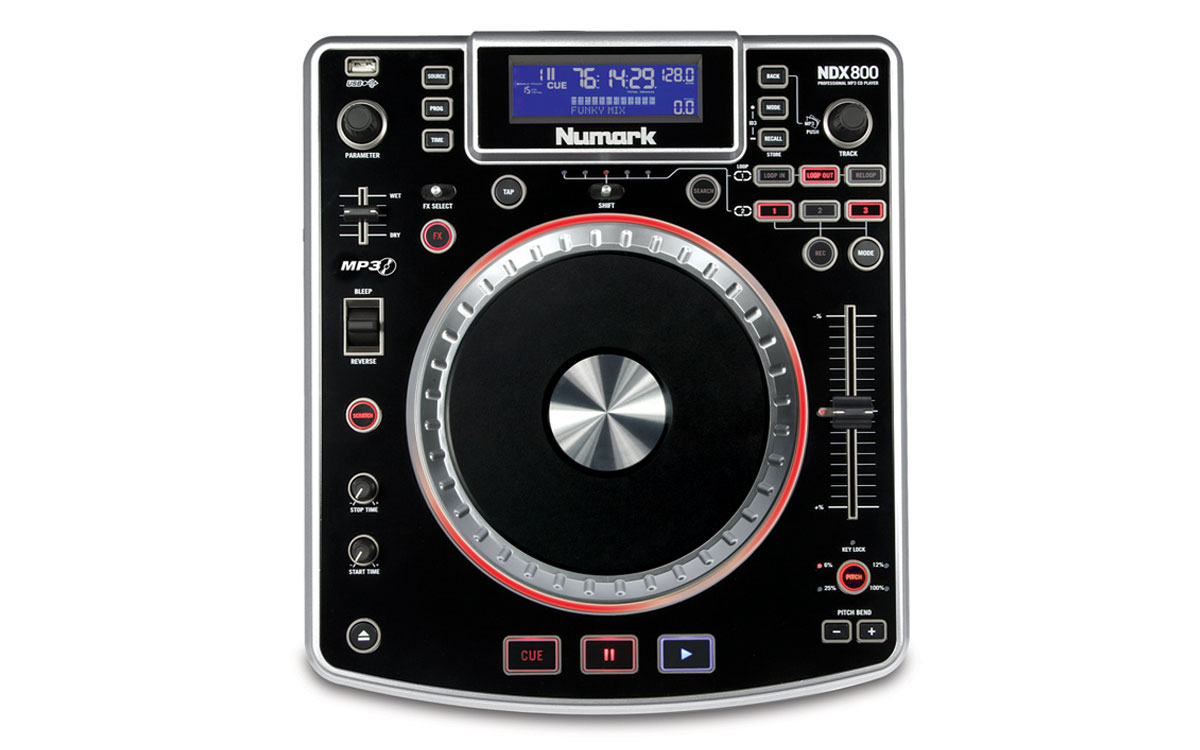 NDX800 Professional Software Controller with MP3/CD/USB | Numark