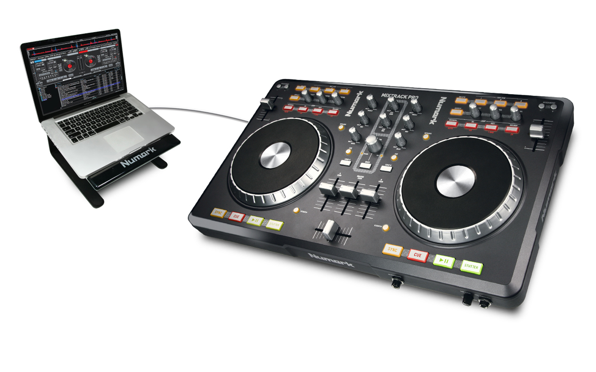 Mixtrack Pro 2-Channel DJ Controller With Audio I/O | Numark