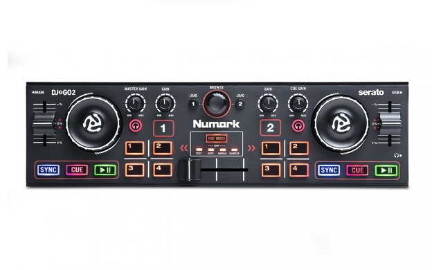 dj2go2 pocket dj controller audio interface numark you need flash player 8 or above