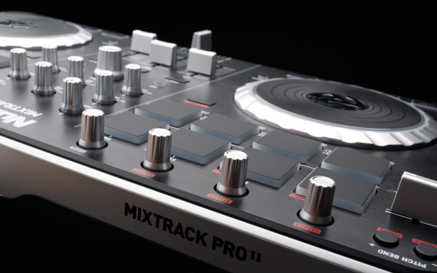 mixtrack pro ii 2 channel dj controller audio i o numark you need flash player 8 or above