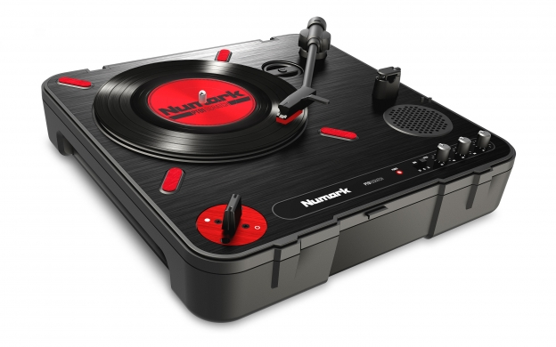 pt01 scratch portable turntable with dj scratch switch numark. Black Bedroom Furniture Sets. Home Design Ideas