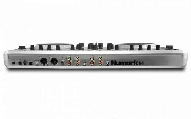 N4 4-Channel DJ Controller with Mixer   Numark