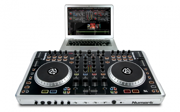 N4 4 Channel Dj Controller With Mixer Numark